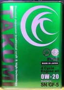 Takumi. Вязкость 0W-20, синтетическое