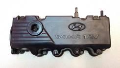 Крышка головки блока цилиндров. Hyundai Accent Hyundai Getz Hyundai Verna Hyundai Click Двигатель G4EA
