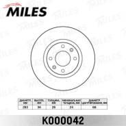 Диск тормозной CITROEN BERLINGO +ESP/C5/C4/PEUGEOT 207 05>/307 05> передний K000042