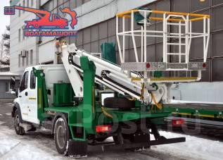КамАЗ ПСС-131.18Э. ПСС-131.18Э на шасси ГАЗон Next (2 рядная кабина), 4 430куб. см., 18м.