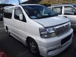 Nissan Elgrand. AVWE50, QD32