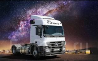Mercedes-Benz Actros. 1841 LS Optimus седельный тягач, 12 000 куб. см., 10 419 кг.