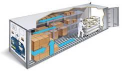 Хранение заморозки, скоропортящихся грузов: мясо, рыба, фрукты, овощи