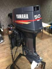 Yamaha. 50,00л.с., 2-тактный, бензиновый, нога L (508 мм), Год: 2004 год