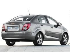 Бампер задний Chevrolet Aveo, седан, T300 (10.2011 - 09.2015)