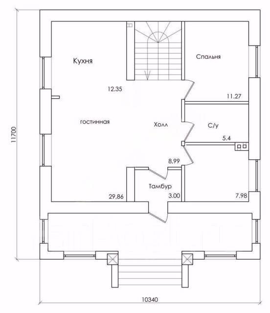 Продатся строящийся дом на Весенней. Улица Восточная 2-я 7, р-н Весенняя, площадь дома 160 кв.м., скважина, электричество 15 кВт, отопление электриче...