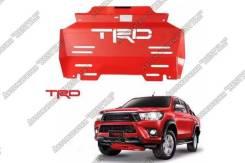 Дефлектор радиатора. Toyota Hilux. Под заказ
