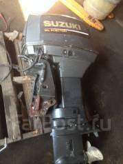 Suzuki. 55,00л.с., 2-тактный, бензиновый, нога L (508 мм), Год: 1996 год