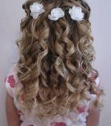 Плетение кос, причёски, маникюр