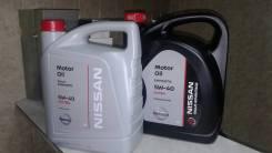 Nissan. Вязкость 5W-40
