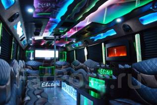 Лимузин Party Bus с фантастическим дизайном по привлекательной цене!. С водителем