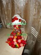 Парящая чаша фруктовая, сувенир в ед. экземпляре
