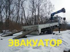 Isuzu Forward. Эвакуатор - есть всё! эвакуаторный борт 5т 4 лапы 10 метров стрела!, 7 200 куб. см., 5 000 кг.
