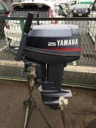 Yamaha. 25,00л.с., 2-тактный, бензиновый, нога S (381 мм), Год: 2000 год