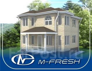 M-fresh Vlad style (Проект дома с эркерами! 5 комнат). 100-200 кв. м., 2 этажа, 5 комнат, дерево