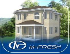 M-fresh Vlad style (Эркер, 2 полных этажа, пять комнат). 100-200 кв. м., 2 этажа, 5 комнат, дерево