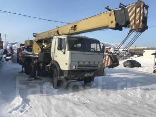 Камаз. Автокран камаз, 16 000 кг., 25 м.