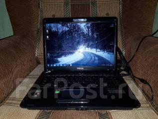 Toshiba. 15дюймов (38см), 2,2ГГц, ОЗУ 4096 Мб, диск 160 Гб, WiFi, Bluetooth