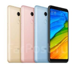 Xiaomi Redmi 5. Новый, 16 Гб, Желтый, Золотой