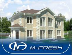 M-fresh Extra Classsss! (Проект классного дома для жизни на природе). 400-500 кв. м., 2 этажа, 6 комнат, бетон