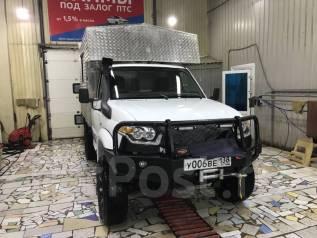 УАЗ Карго. Жилой модуль, грузовой фургон, 2 700куб. см., 1 000кг.