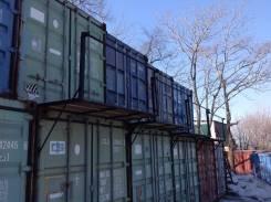 20 фут контейнера под складское хранение. 15кв.м., улица Днепровская 29, р-н БАМ