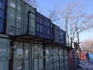 20 фут контейнера под складское хранение. 15 кв.м., улица Днепровская 29, р-н БАМ
