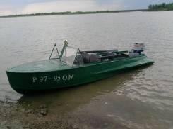 Казанка-М. Год: 1988 год, длина 4,50м., двигатель подвесной, 30,00л.с., бензин