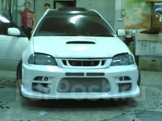 Бампер. Toyota Caldina, ST210, ST210G, ST215, ST215G, ST215W