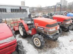 Yanmar. Трактор 17л. с., 4wd, ВОМ, фреза, 17 л.с.