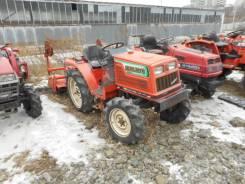 Hinomoto. Трактор 20л. с., 4wd, ГУР, фреза в комплекте, 20 л.с.