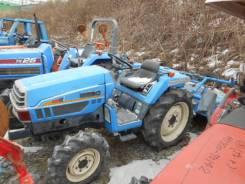 Iseki. Трактор 23 л. с., 3 цилиндра, 4wd, фреза, навеска на 3 точки, 23 л.с.