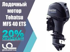 Tohatsu. 40,00л.с., 4-тактный, бензиновый, нога S (381 мм), 2018 год год