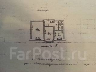 Продам офисную квартиру в центре Находки. Проспект Находкинский 15 кв 8, р-н Центральная площадь, 44кв.м.
