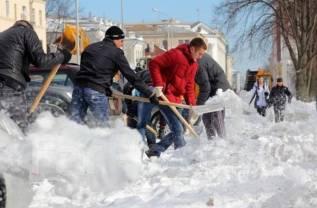 Уборка снега и льда, вывоз снега. Без выходных. Инструмент свой.