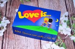Подарок на день Всех влюбленных (101 причина любви) + сладости