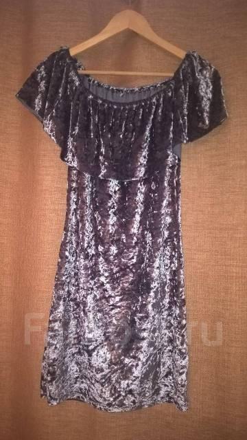 c131aa74d1923 Новое бархатное серое платье, добавила реальные фото - Основная ...