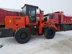 SZM 930. Фронтальный погрузчик SZM-930 c лесозахватом, 4 500 куб. см., 3 000 кг.