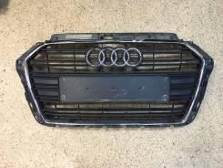Решетка радиатора. Audi S3, 8VF, 8VK, 8VM Audi A3, 8VE, 8VF, 8VK, 8VM Двигатели: CHHB, CHZD, CJXD, CJXG, CNTC, CPTA, CPWA, CRFA, CRFC, CRLB, CRUA, CUK...