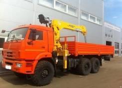 Soosan SCS746L. Кран манипулятор 7 тонн , 12 000кг., 6x6