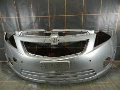 Chevrolet Spark 3 (2009-15гг) - Бампер передний