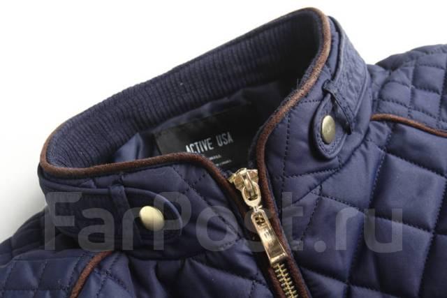 Классная стеганая куртка Active USA. Черный цвет - Верхняя одежда во ... 0776efb2d5b
