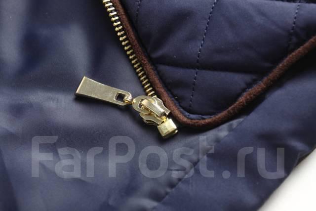 Классная стеганая куртка Active USA. Темно-синий цвет - Верхняя ... 066a6b8fc0c