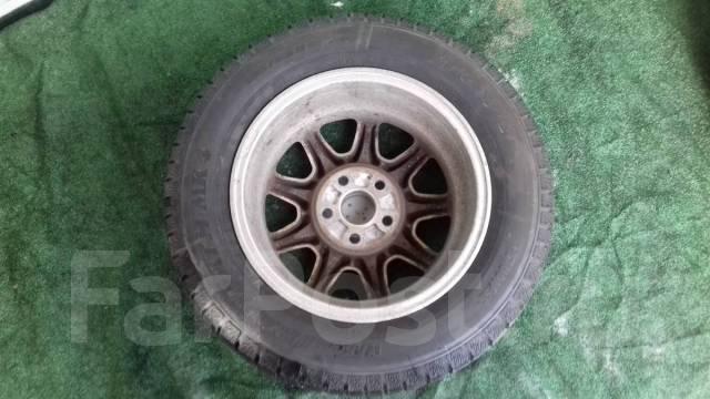 Резина TOYO 195/65R15 в комплекте с литыми дисками. x15