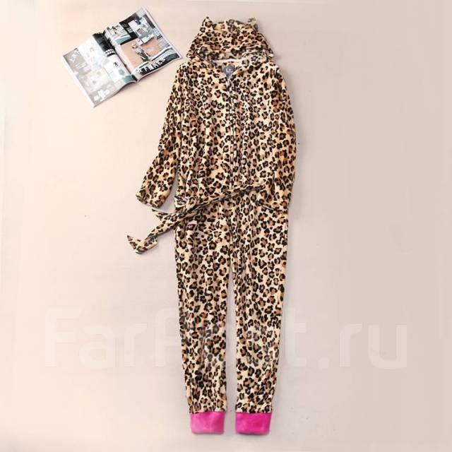 Кигуруми леопард Пижама - Одежда для дома и сна во Владивостоке 967ed21418edd