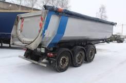 Carnehl. Карнель самосвальный алюминиевый полуприцеп, 35 000 кг.