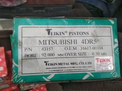 Поршень. Mitsubishi L200 Mitsubishi Pajero Mitsubishi Jeep Двигатели: 4D56T, 4D55T, 4DR5