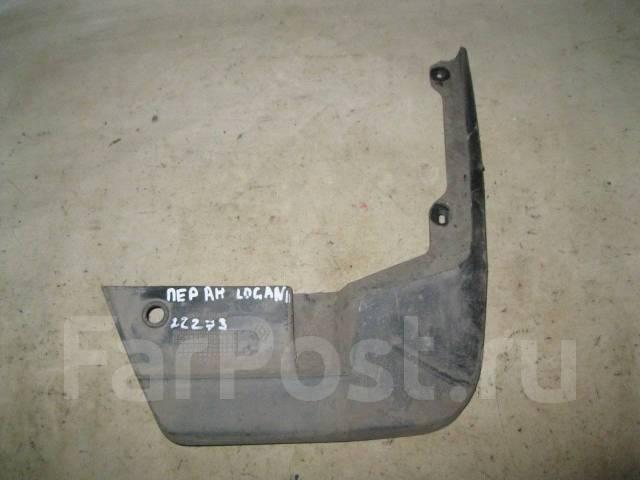 брызговик передний правый renault logan