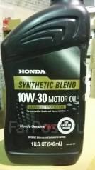 Honda. Вязкость 10W-30