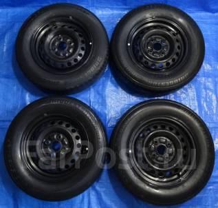 Колеса Bridgestone Sneaker 175/70R13 на Toyota 100x4. 4 шт. Отправка. 5.0x13 4x100.00 ET38 ЦО 54,1мм.